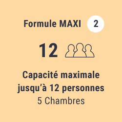 Formule Maxi (jusqu'à 12 personnes)