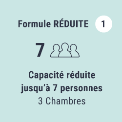 Formule Réduite (jusqu'à 7 personnes)